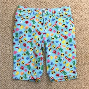 BOGO Place Girls Shorts Aqua Sz 12